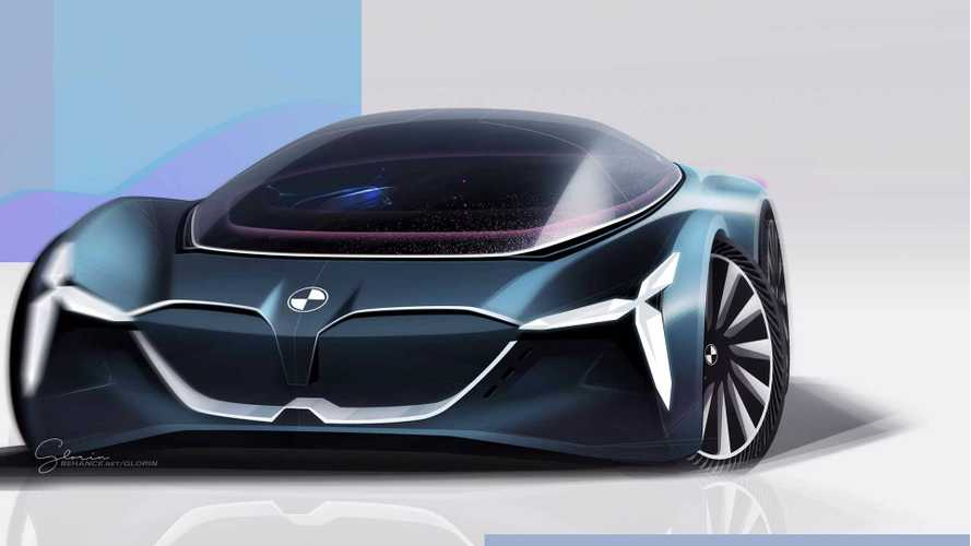 BMW Vision Grand Tourer Renders A Driverless, Fully Electric Future