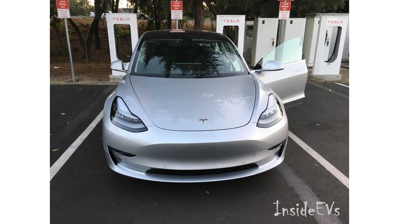The Tesla Model 3 aims to make up a substantial part of the growth of electric vehicle sales globally. (Image Credit: Mark F)