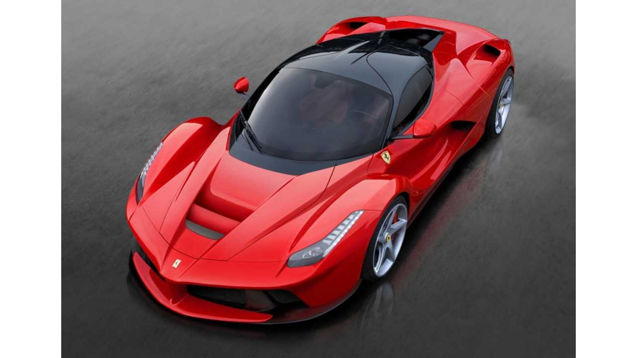 Ferrari Says It Will Be First To Make True Electric Supercar