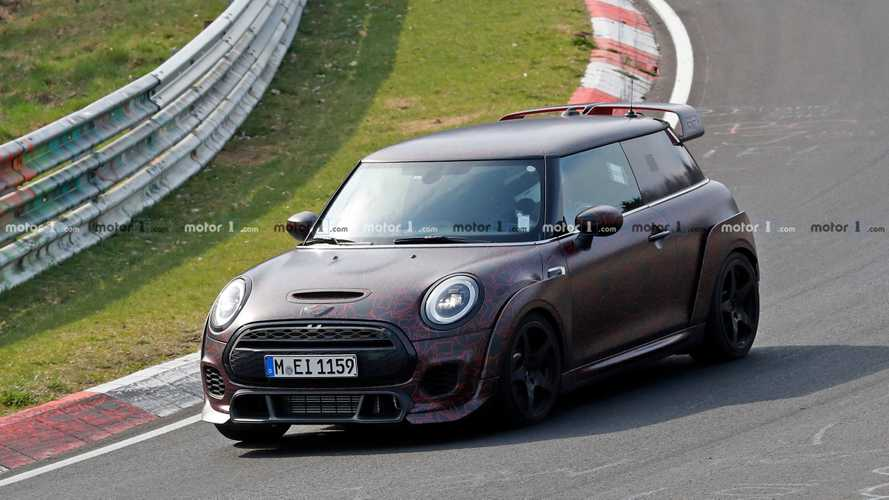 Vídeo: el MINI John Cooper Works GP 2020 se desata en Nürburgring