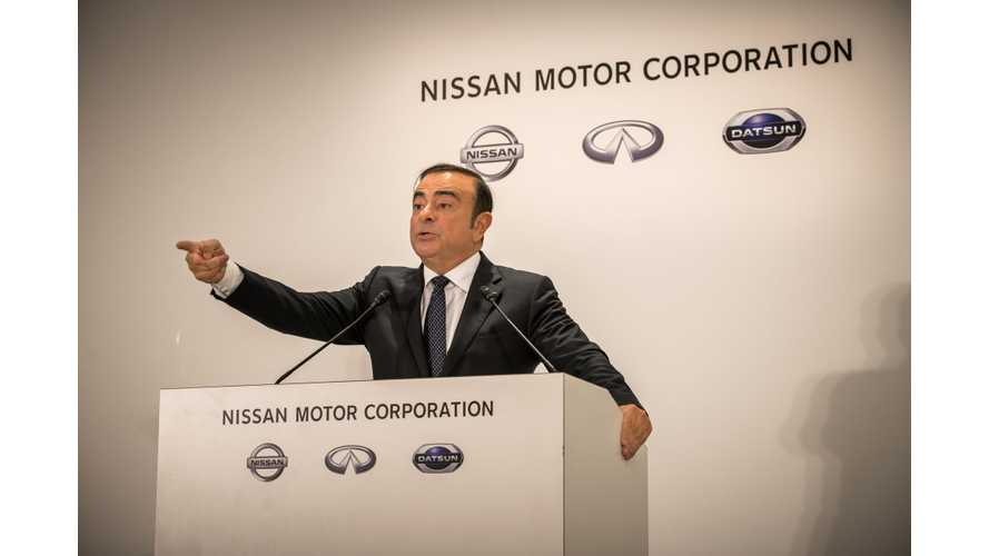 Ghosn Re-Arrested Under New Allegations: LEAF e-Plus Debut Postponed?