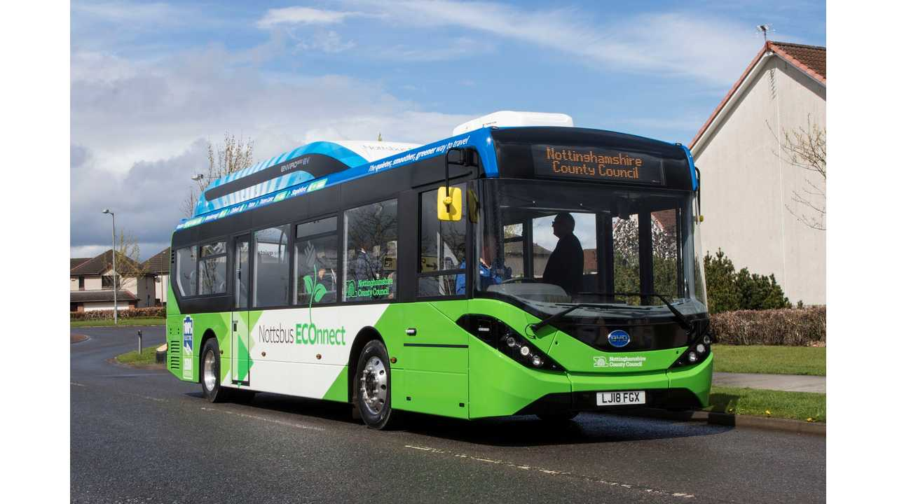 Electric Bus Orders More Than Doubled Last Year In Europe