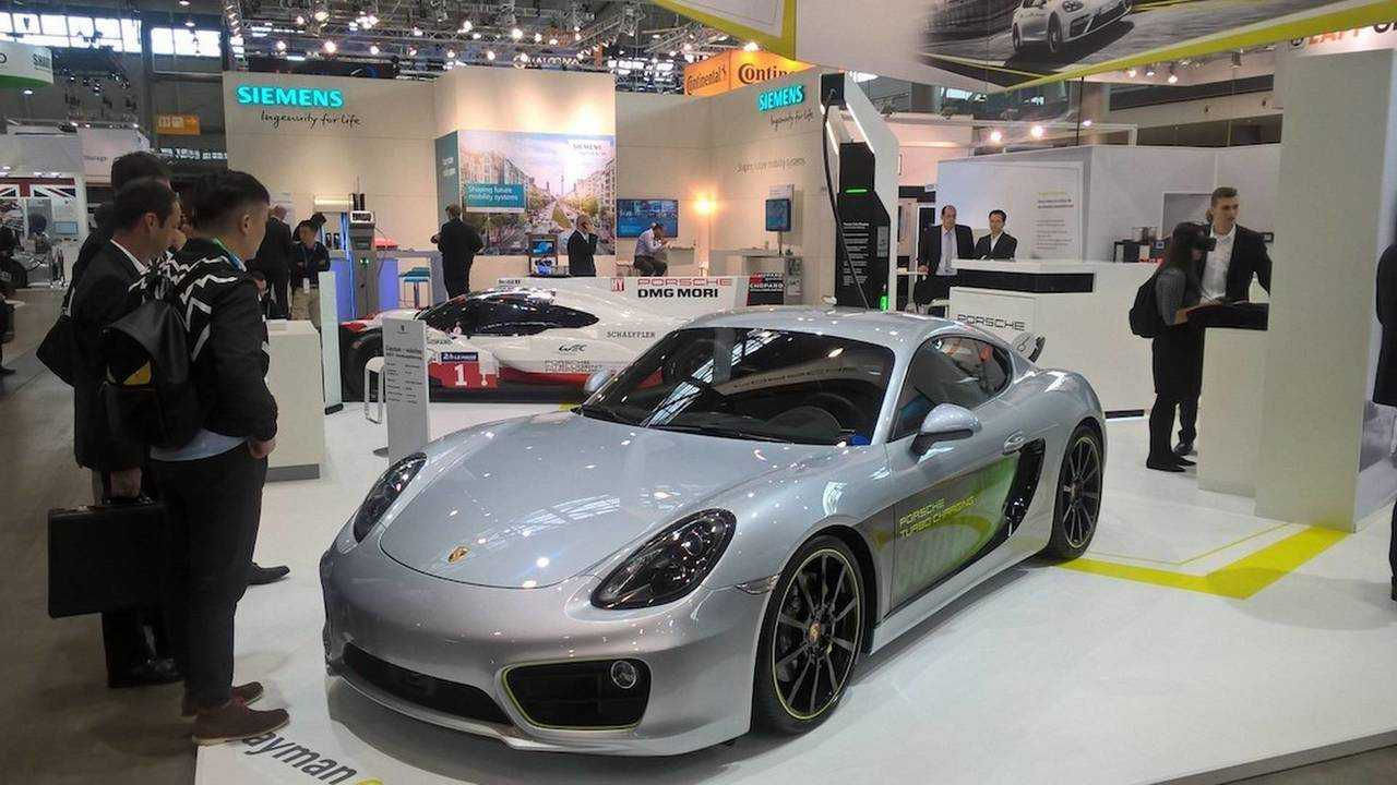 Porsche Cayman e-volution Electric Concept Charges At 800 Volts, 0 To 62 MPH In 3.3 Seconds