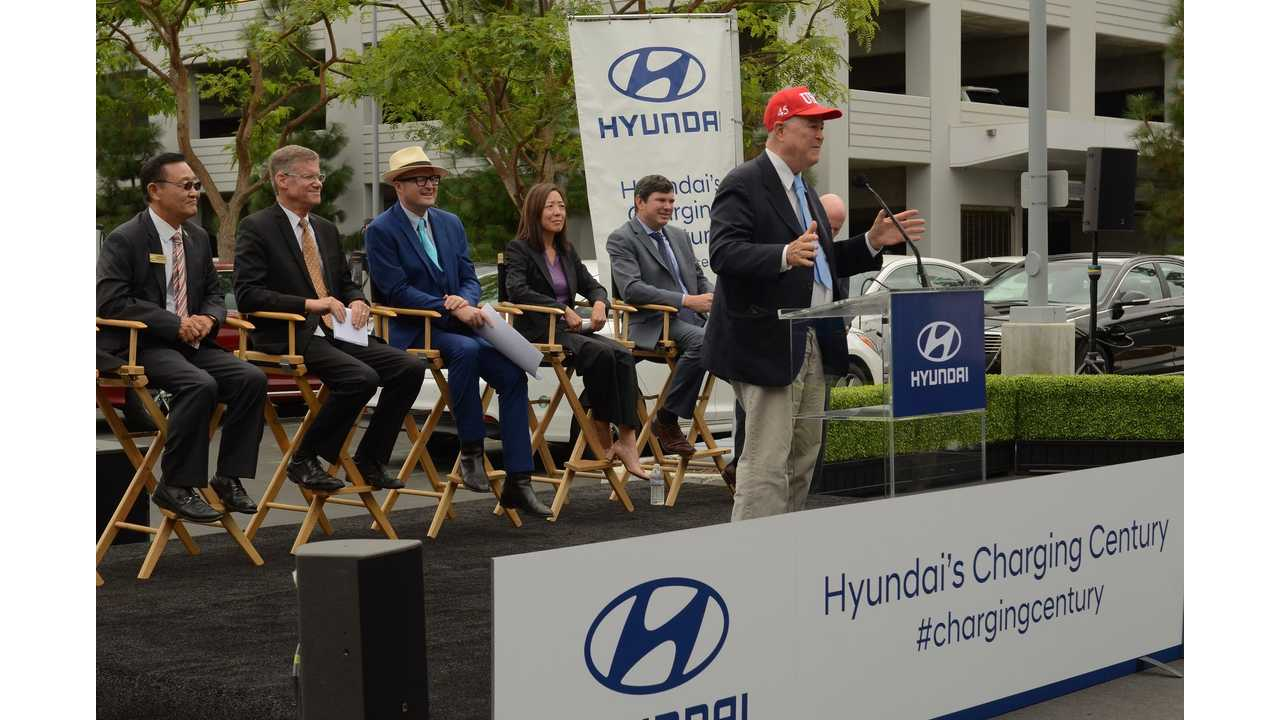 Hyundai Adds Over 100 Charging Stations For Its U.S. Employees