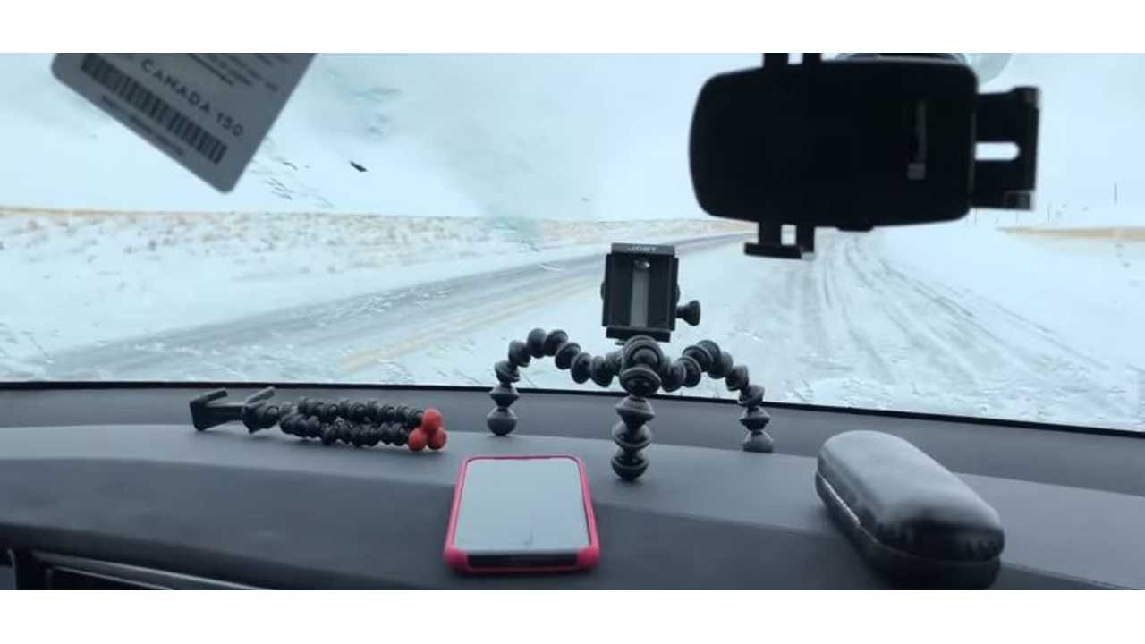 Even Negative Temps Don't Stop Electric Cars - Video