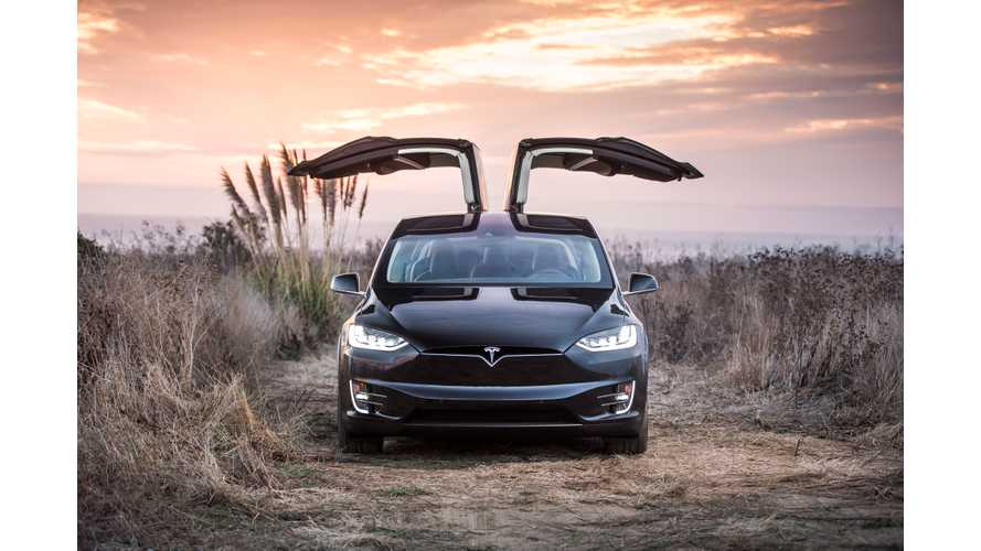 First Tesla Model X Delivered In Canada