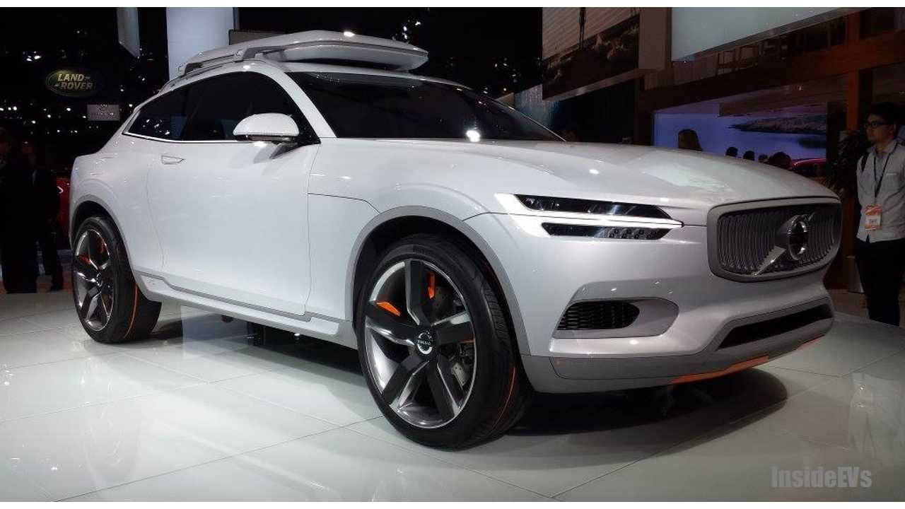 Who Doesn't Love A Wild Card? Volvo Plug-In Concept From 2014 NAIAS