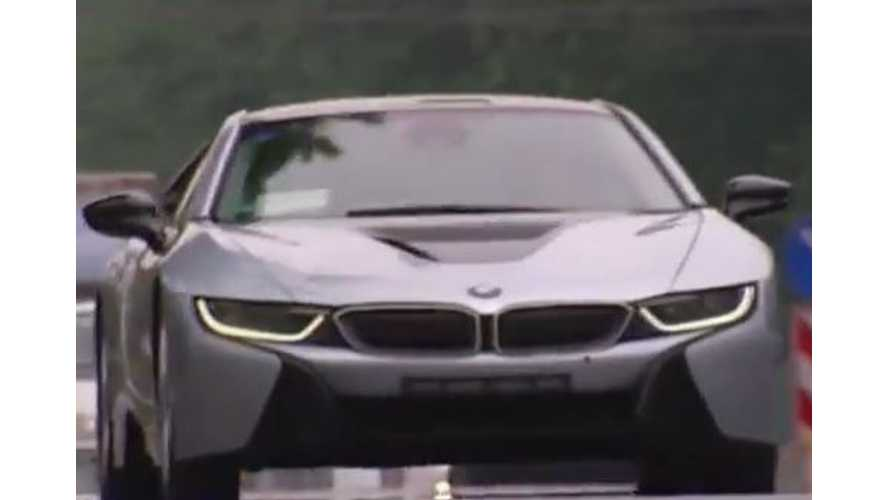 BMW i8 Test Drive - Video