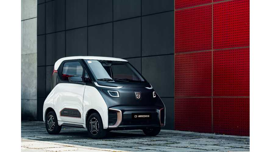 GM Announces Baojun E200 Will Launch In China This Month