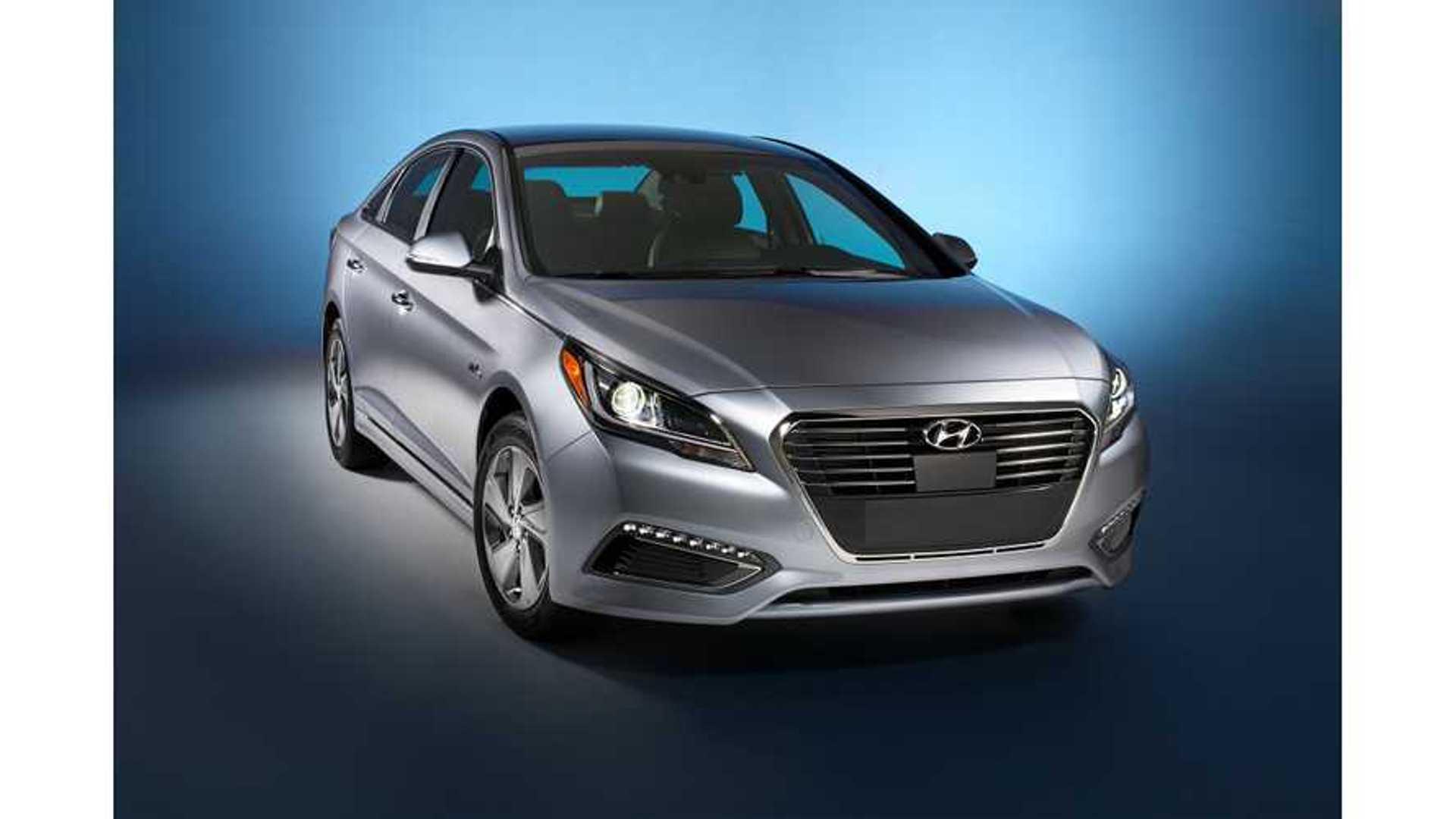 Hyundai Sonata Phev Gets Up To 27 Miles Of Electric Range According Epa
