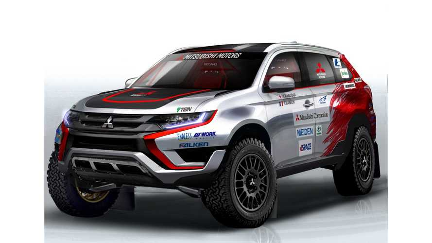 New Mitsubishi Outlander PHEV Takes On Baja Portalegre 500 Challenge