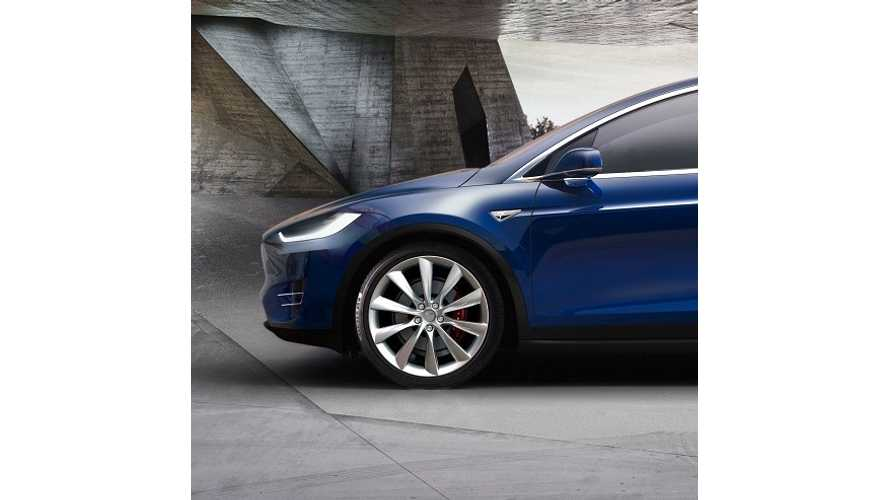 New Tesla Model X Gallery Photos - Desktop Sized