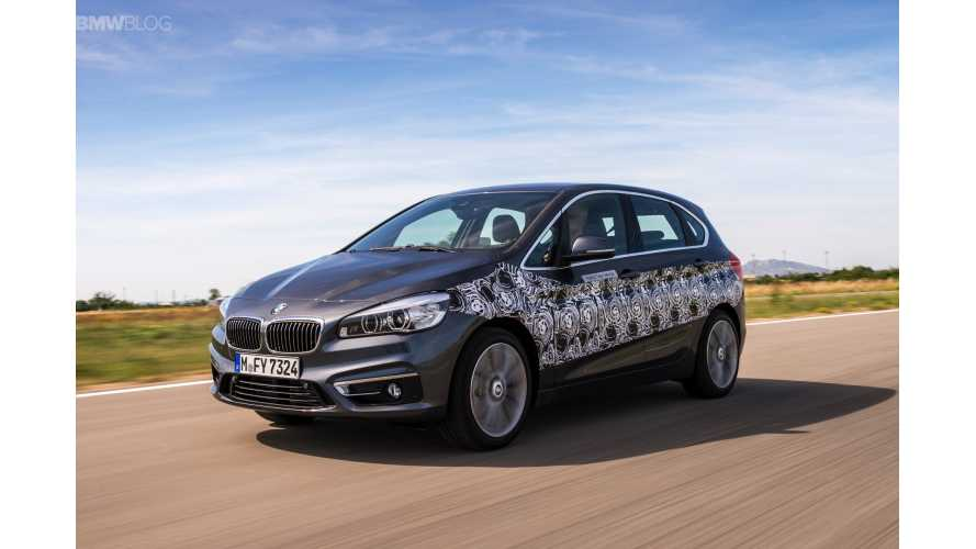 First Drive: BMW 2 Series Active Tourer eDrive PHEV