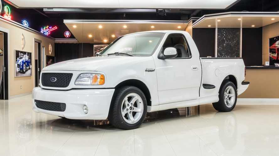 Rare Oxford White Ford F-150 Lightning Has Ultra Low Miles