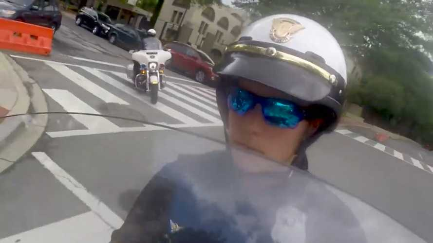 First Woman Joins Secret Service Motorcycle Unit
