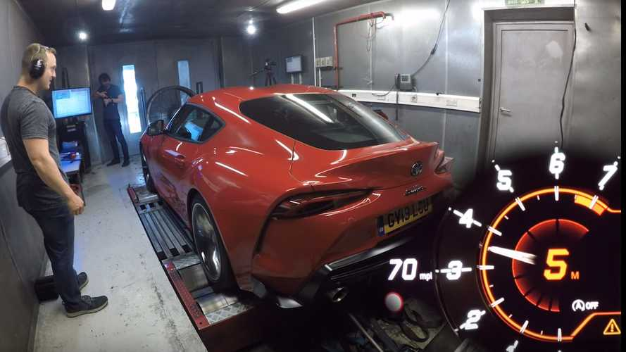 Euro-Spec Toyota Supra Dyno Test Shows Impressive Numbers, Again