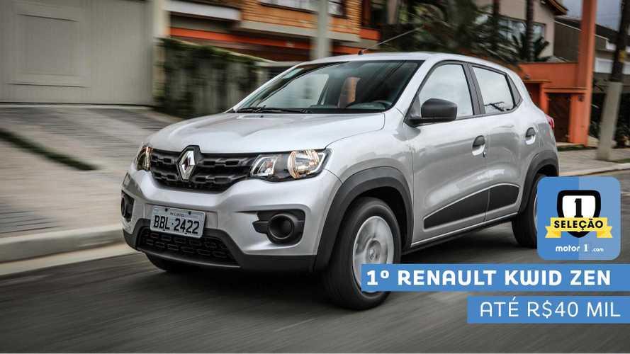Seleção Motor1.com 2019: Renault Kwid Zen é bicampeão na categoria de entrada