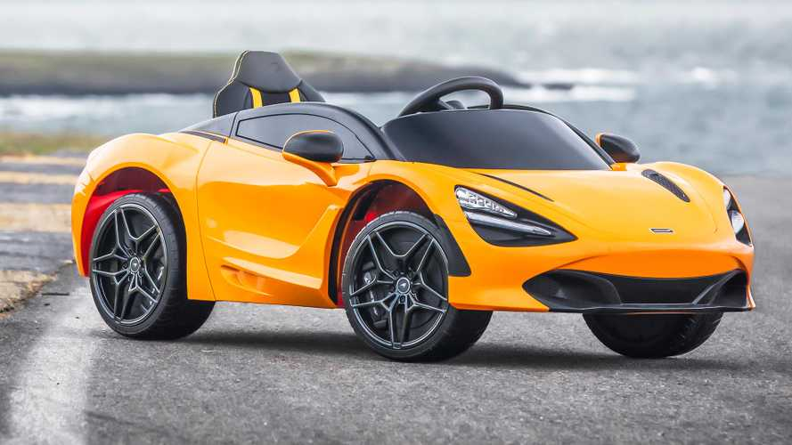McLaren 720S debuts new autonomous, electric variant... for kids
