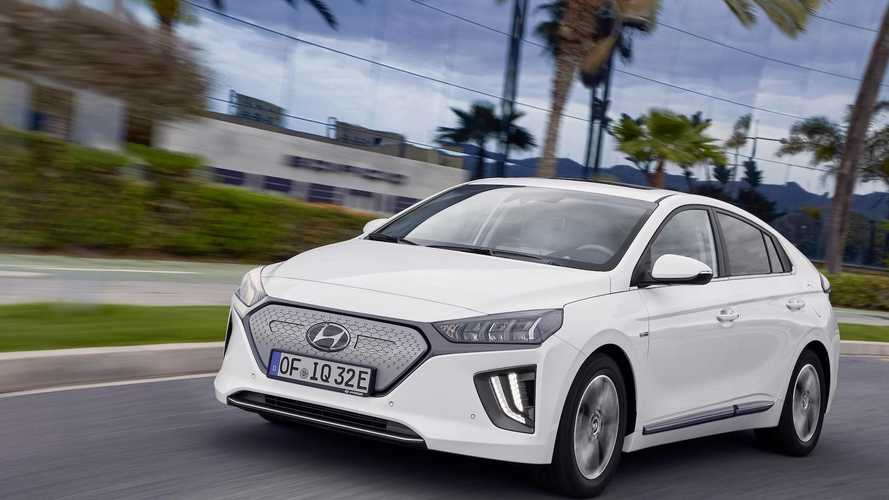 Hyundai Ioniq Electric Gets Boosted Range, Stronger Motor, New Look