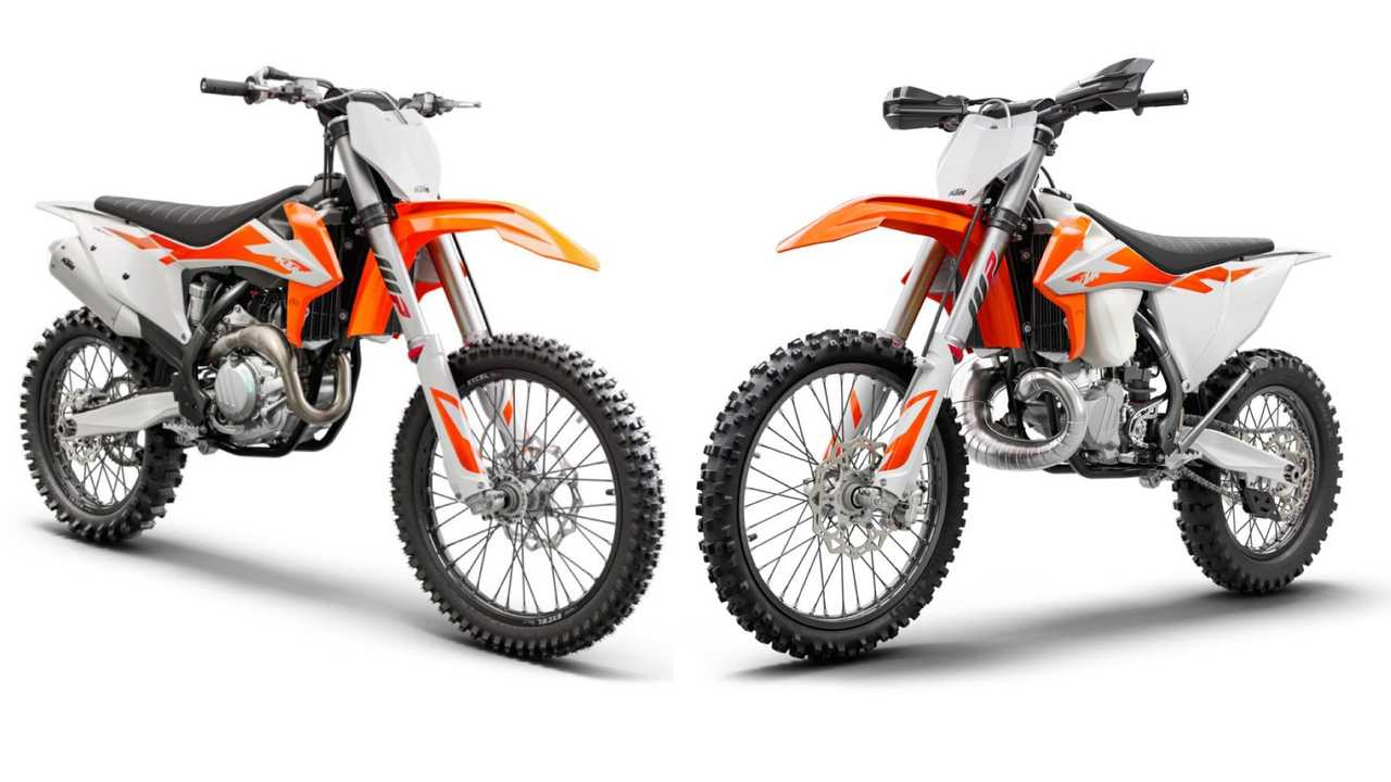 KTM 2020 range