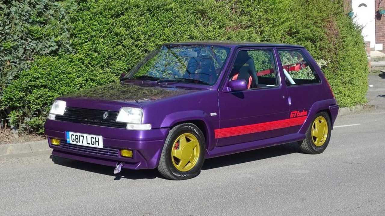 Subasta Renault 5 GT Turbo (1989)