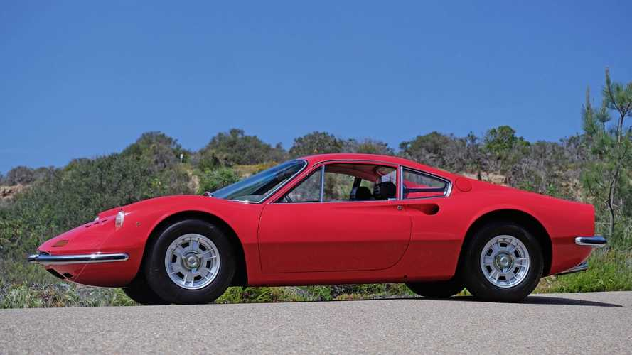Exceptionally Rare L Model Dino 246 GT Up For Grabs