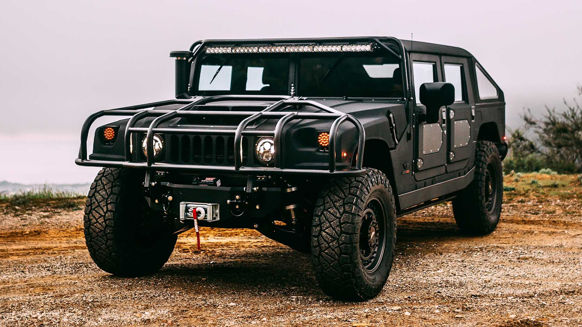 2019 Hummer H1 Price, Concept, Specs >> Mil Spec S New Custom Hummer Looks Ready To Embrace The Dark