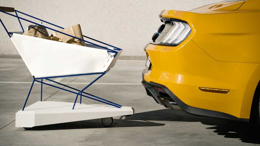 Ford Has Made A Self-Braking Shopping Cart In Its Spare Time