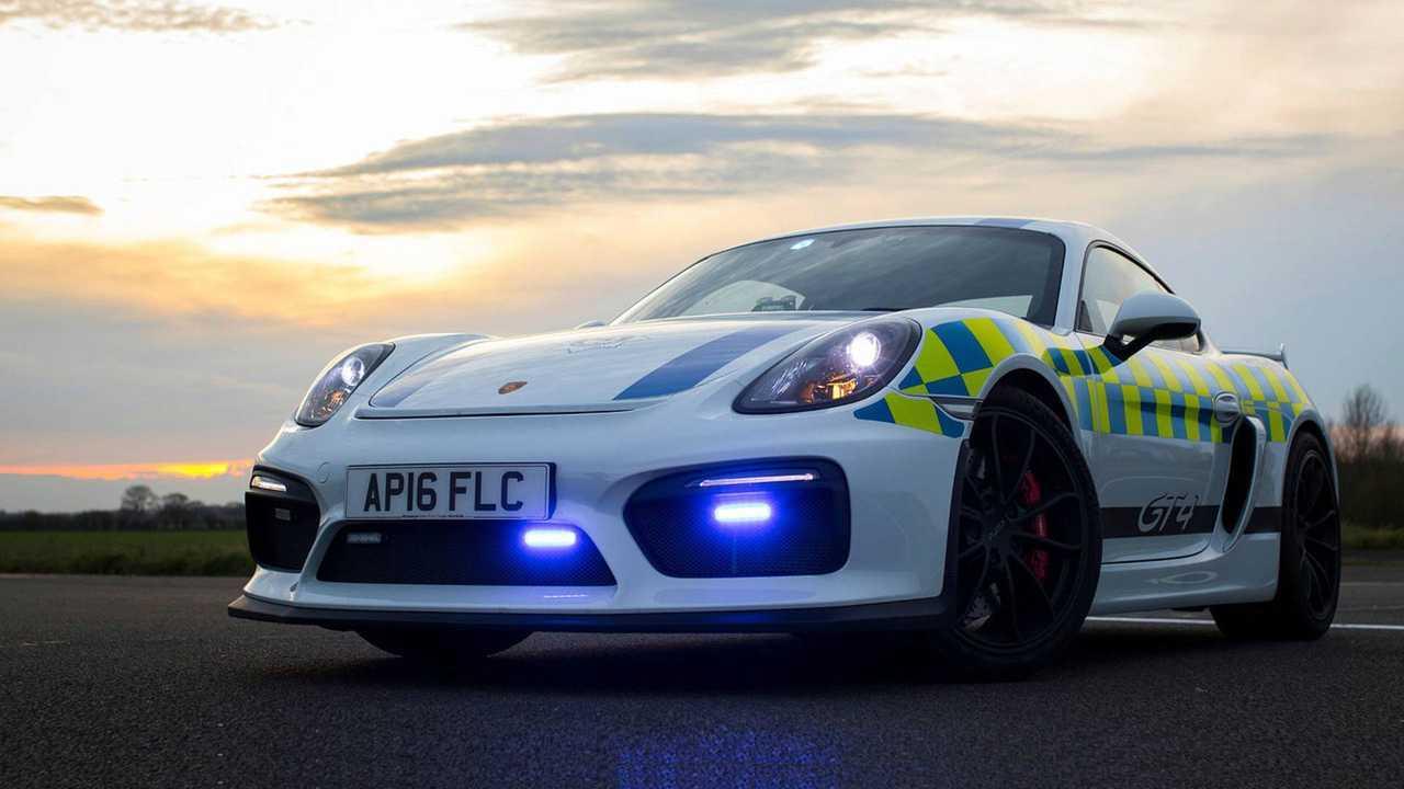 Porsche Cayman GT4 – Polícia do Reino Unido