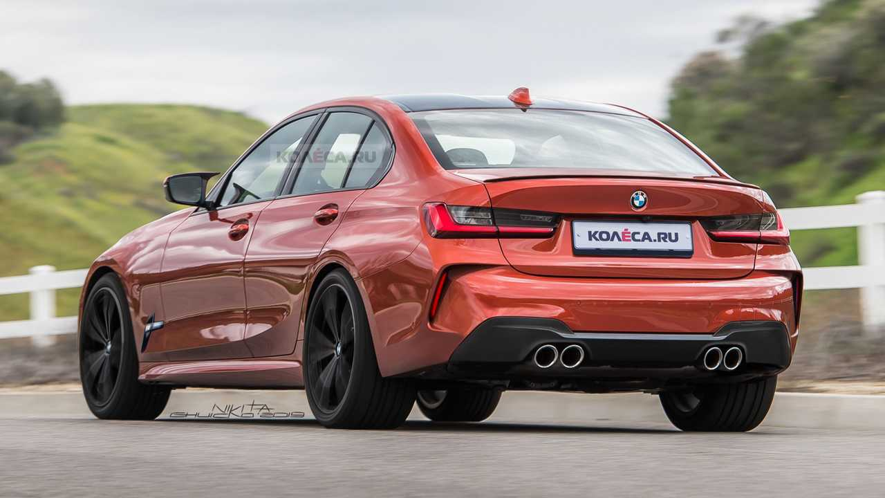 2020 BMW M3 Rendered With Enormous Kidney Grilles