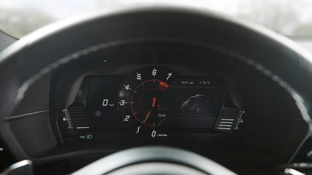 The Toyota Supra's Instrument Cluster Was Designed By BMW - Motor1