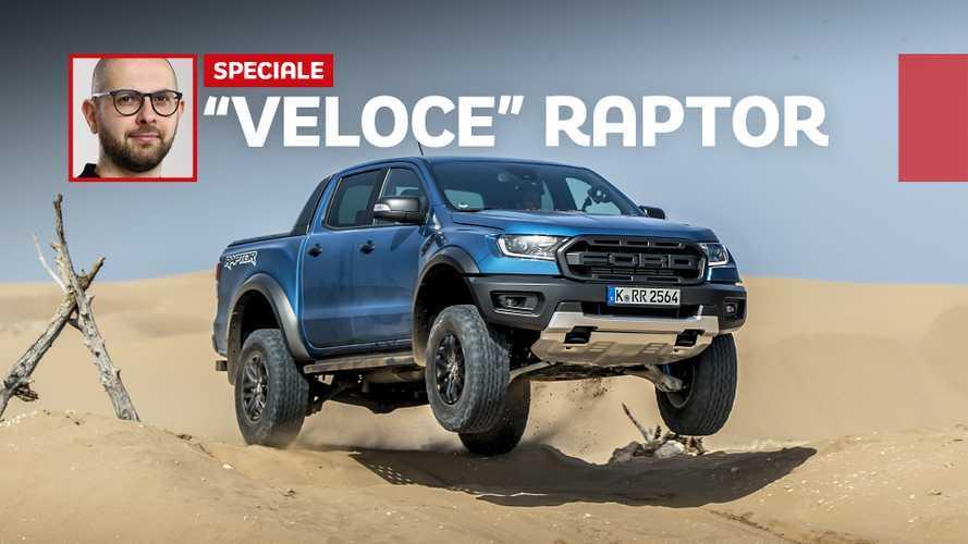 Ford Ranger Raptor, affronta le dune da professionista