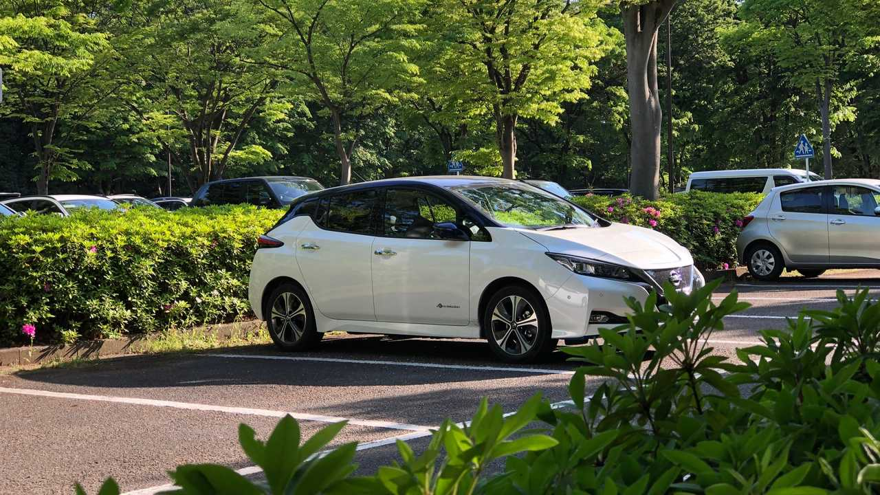 Nissan LEAF in Japan
