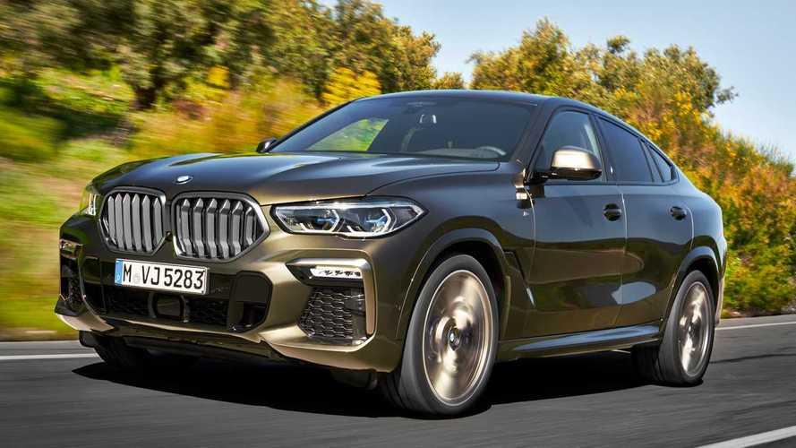 Novo BMW X6 2020 une design, esportividade e tecnologia com até 530 cv