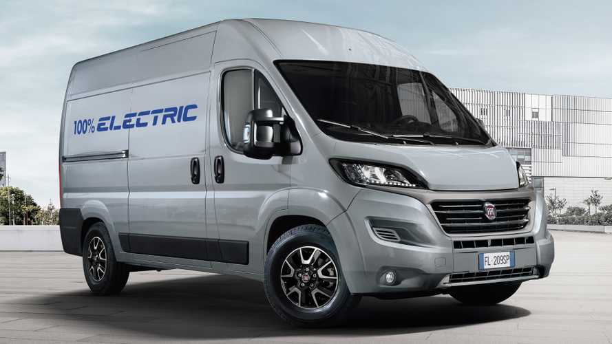 Fiat Ducato goes electric