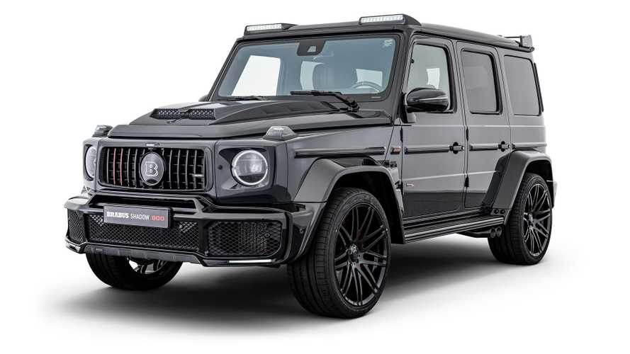 Mercedes-AMG G63 duo tuned to 789-bhp with sinister theme