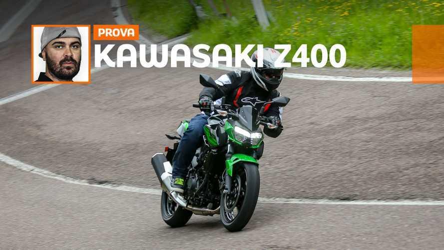 KAWASAKI Z400 – TEST