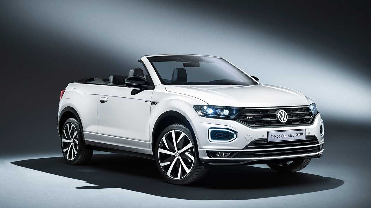 Volkswagen T Roc Cabriolet Is Ready To Rock Out In Frankfurt