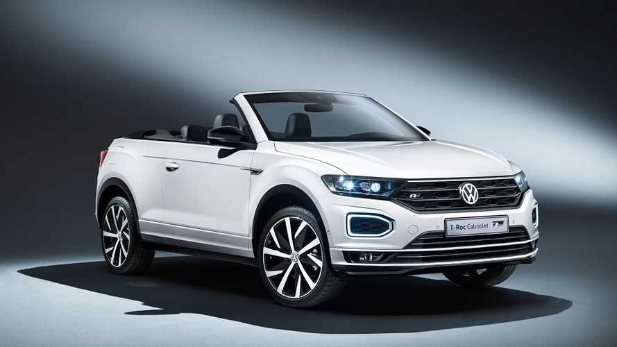 Volkswagen T-Roc Cabriolet Is Ready To Rock Out In Frankfurt