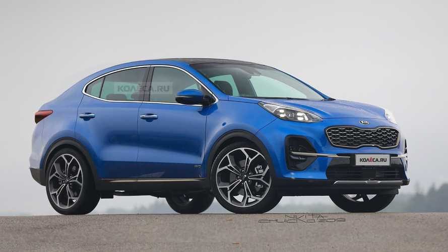 2020 Kia Sportage gets the crossover coupe treatment