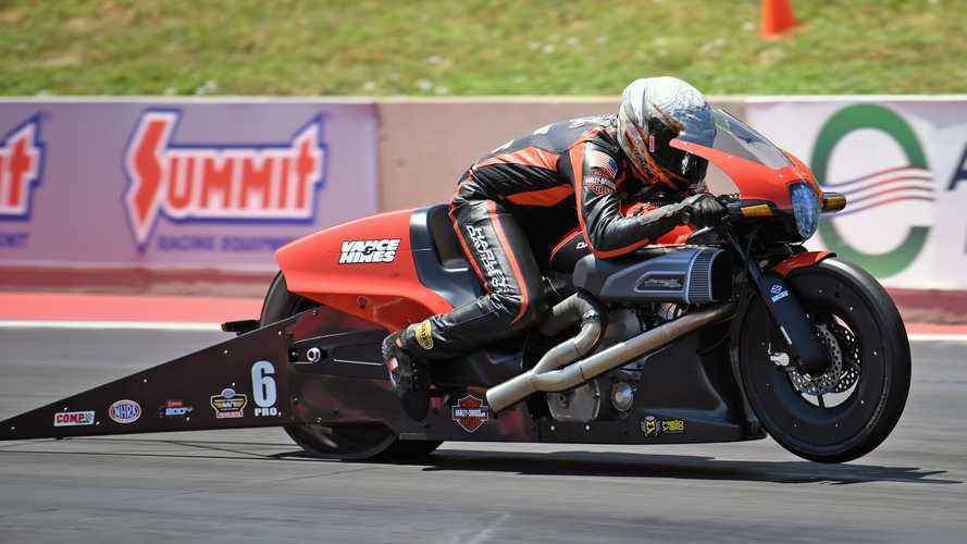 Harley-Davidson Wins At Dodge Mile-High NHRA National Drag Race