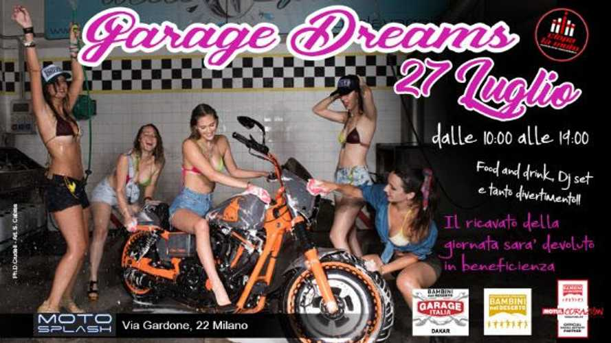 Garage Dreams, quando il bike wash è per beneficienza