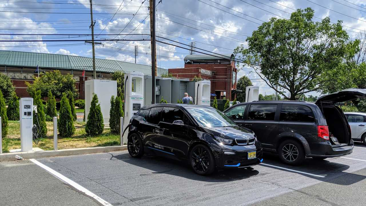 Electrify America's first New Jersey Location