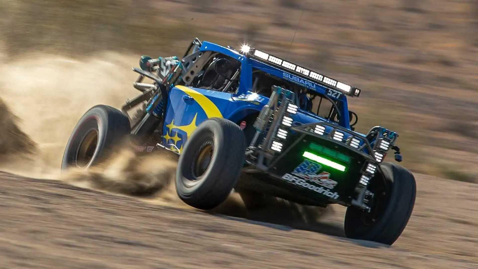 Subaru Crosstrek Desert Racer Looks Ready To Beat Baja