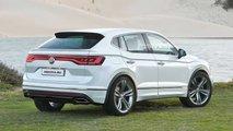 Nächster VW Tiguan (2022) als SUV-Coupé gerendert