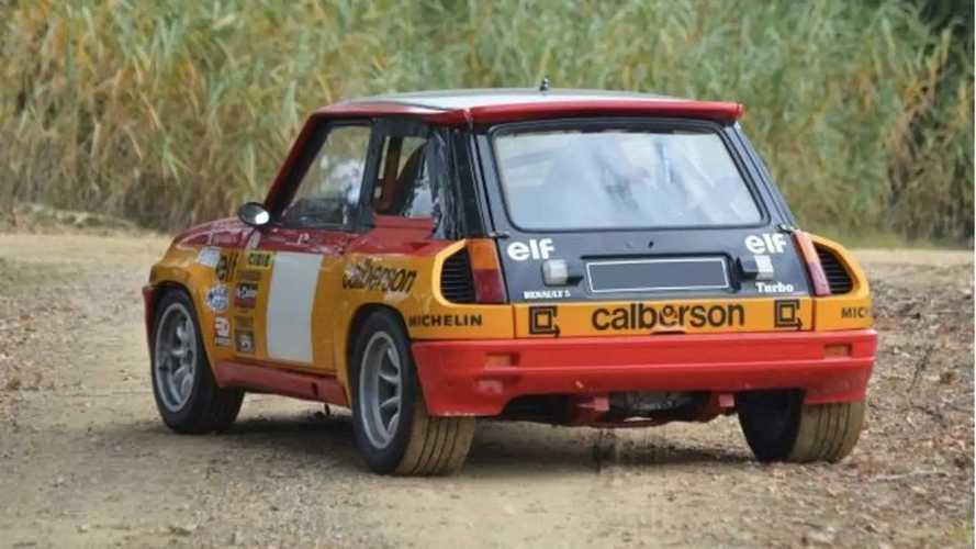 Renault 5 Turbo, in vendita la Gruppo 4 con livrea Calberson