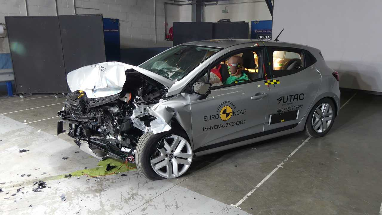 Renault Clio crash-test