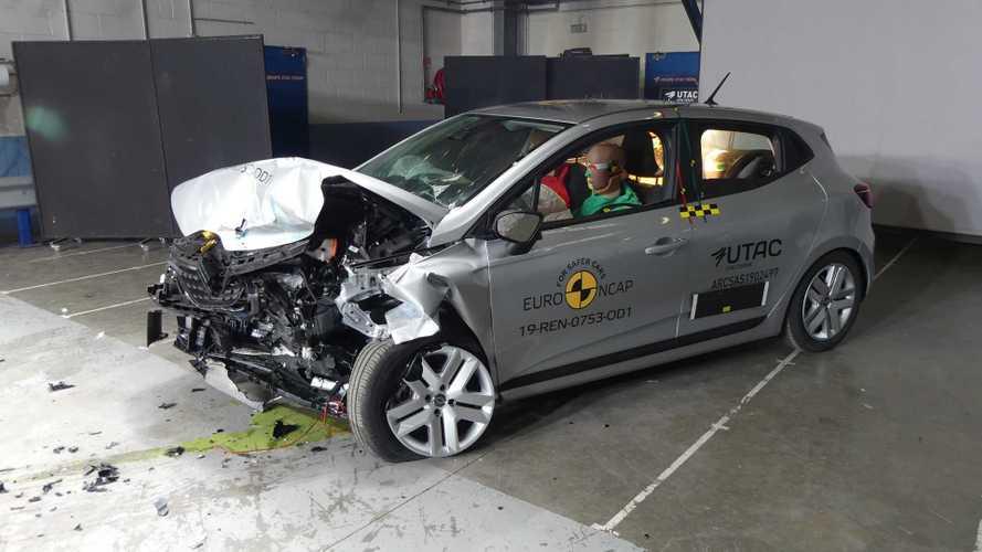 La nouvelle Renault Clio reçue 5/5 aux crash-tests