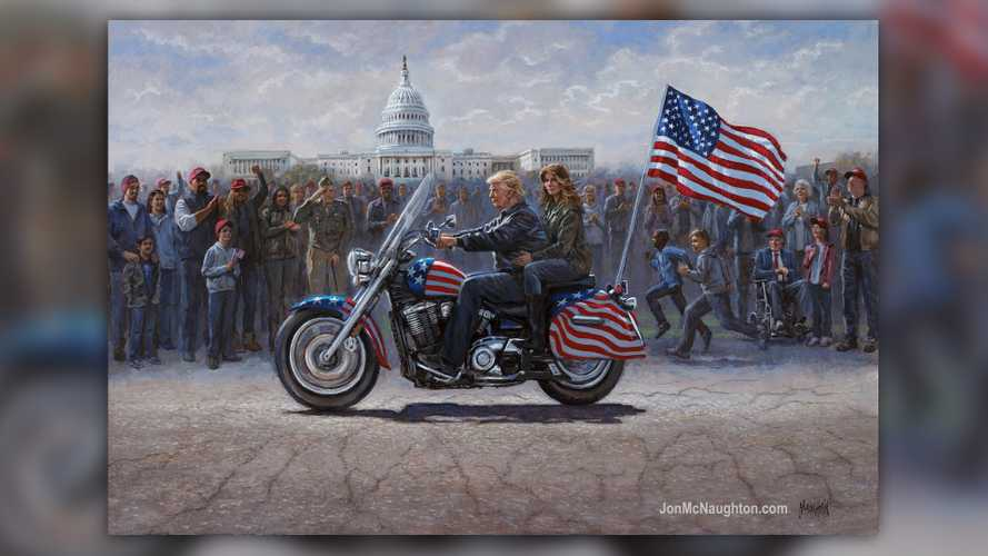 Opinion: This Painting Is Awful And That's Totally Not A Harley