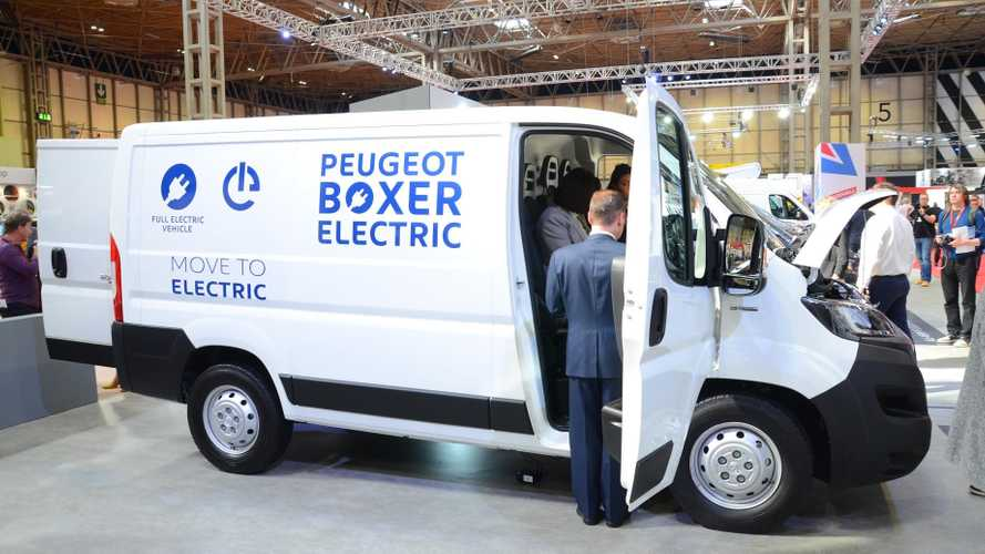 PSA Unveils Peugeot Boxer Electric & Citroën Jumper Electric